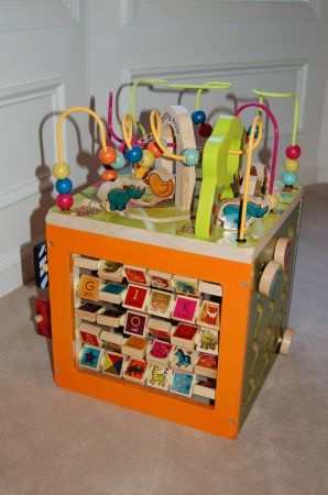 19 Best Images About Wooden Multi Activity Cube On