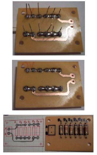 Diseño y construcción de circuitos impresos. Introducción. Desde hace varios años, larealización de los circuitos electrónicos se implementa sobre unsoporte rígido que lleva situados los conductores sobre él de forma pegada y sujeta, el...