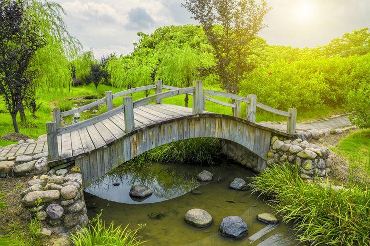 24 incredible and varied garden bridge designs bridge