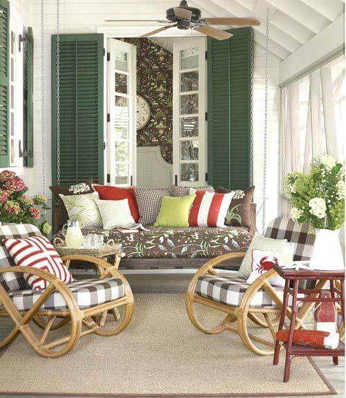 Colori e legno outdoor