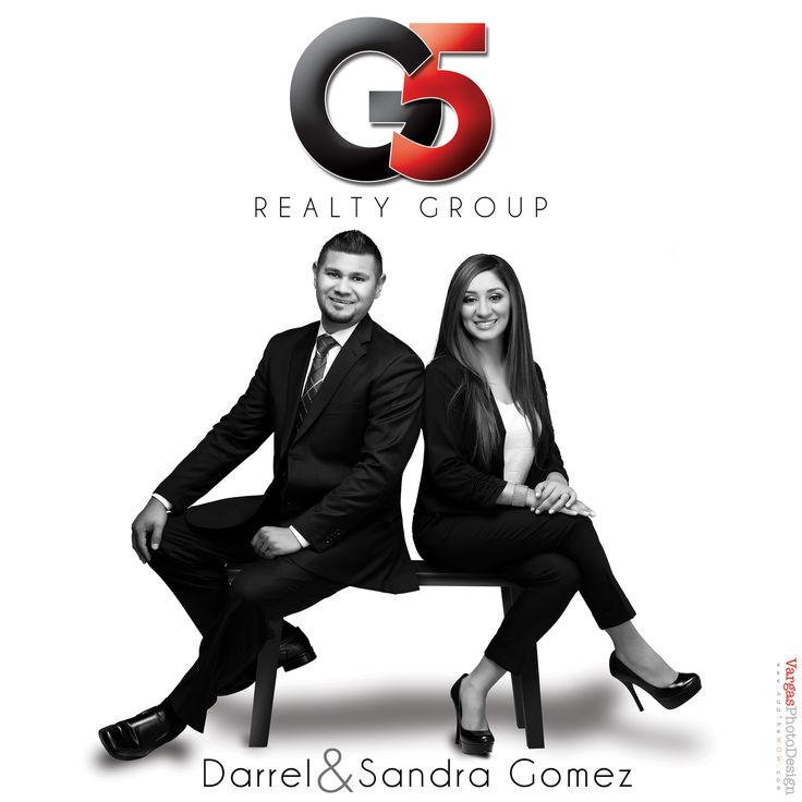 Darrel and Sandra Gomez, Realtors with Keller Williams Realty in Rancho Cucamonga, California. Realtor Logo design with head shots, custom photography, business cards and facebook timeline social media banner.