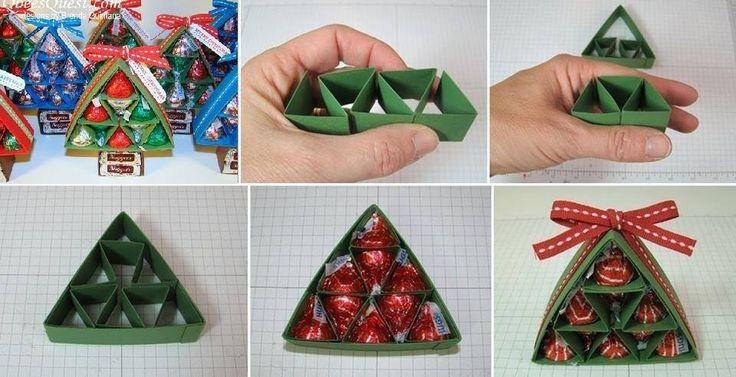 Hershey's Kiss Christmas Tree~ Cute Little Gift Idea!