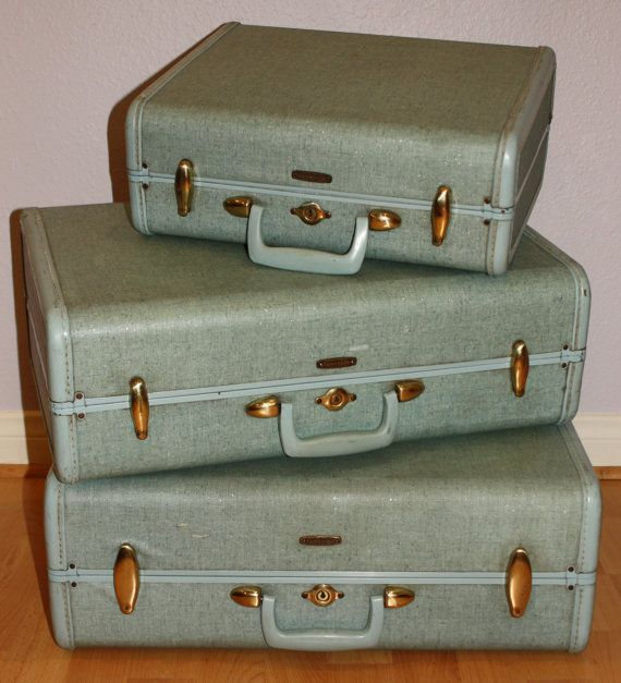 42 best Vintage SAMSONITE images on Pinterest | Vintage luggage ...