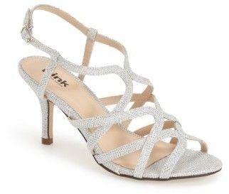 Women's Pink Paradox London 'Rich Glitter' Sandal
