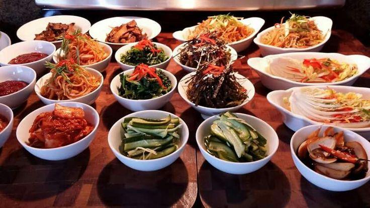 Banchan - Korean side dishes