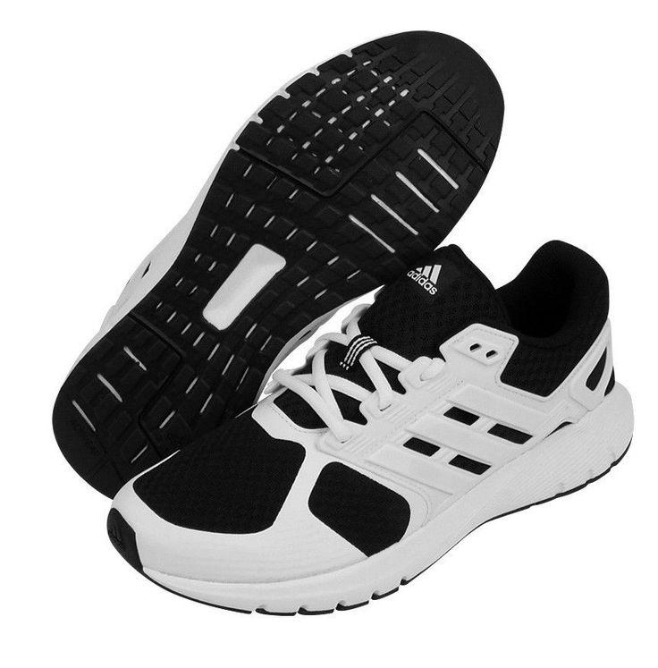 adidas Duramo 8 Men's Running Shoes Sneakers Walking White Shoe Gift NWT  BA8085 #adidas