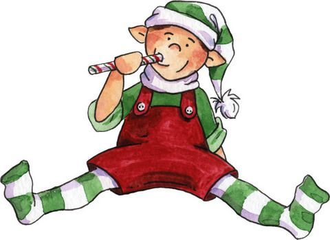 1000 images about elves on pinterest hard at work candy canes and christmas decor - Clipart weihnachtswichtel ...