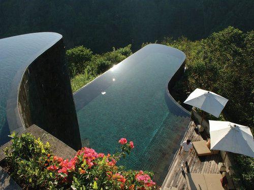 Bali's most magnificent hotel pools