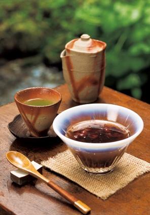 Japanese sweets -Zenzai- : sweet azuki bean soup