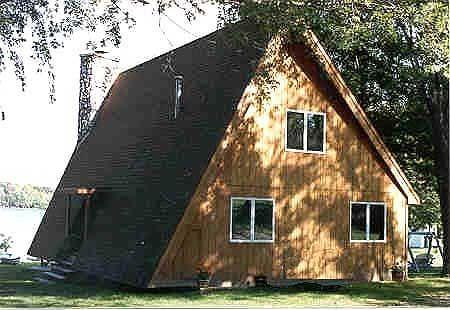 Modified A Frame House Plans Plan W0482p Popular A