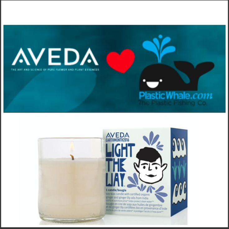#EARTHMONTH #Aveda joins forces with Plastic Whale. #candle #lighttheway http://www.missfashionnews.com/2016/04/18/plastic-whale-aveda/