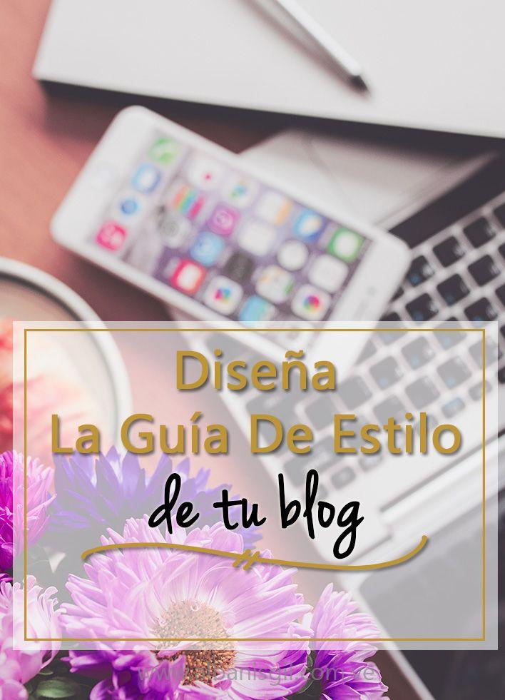 Crea una guía de estilo para tu blog