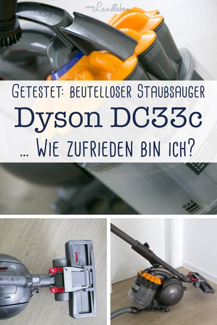 Im Langzeit-Test: Dyson DC33, ein beutelloser Staubsauger. #dyson #produkttest #test #staubsauger #haushalt #wohnen