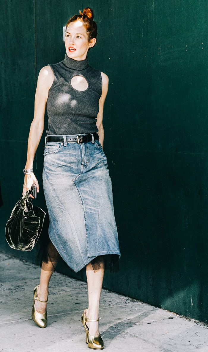 The One Layering Piece Every Cool Girl Owns via @WhoWhatWear