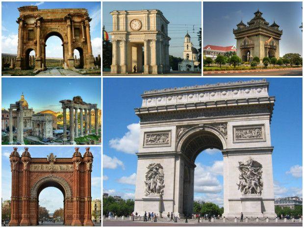 (foto)+Arcele+de+Triumf+din+întreaga+lume:+L'Arc+de+Triomphe+din+Paris+împlineşte+azi+178+de+ani
