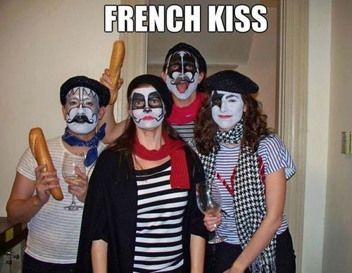Lol! Great group costume idea!