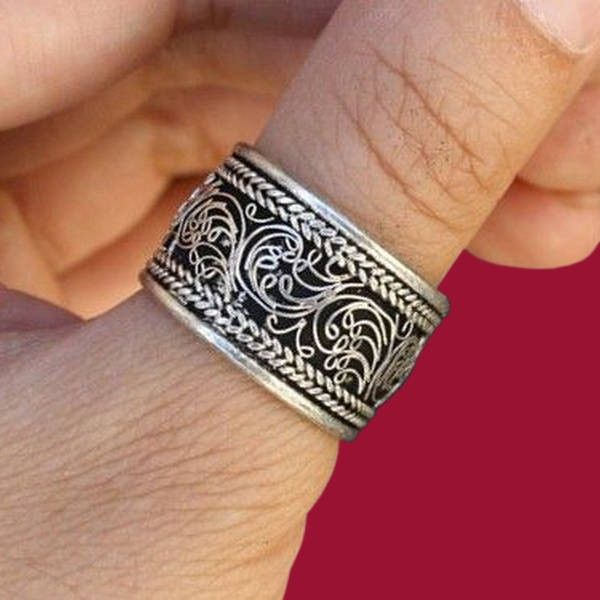 """Thanks for the kind words! ★★★★★ """"Beautiful ring! Love the intricate design!"""" Rynavsma"""