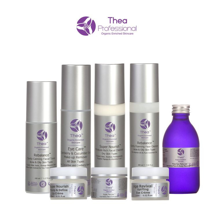 Thea Skincare Organic Introductory Student Kit