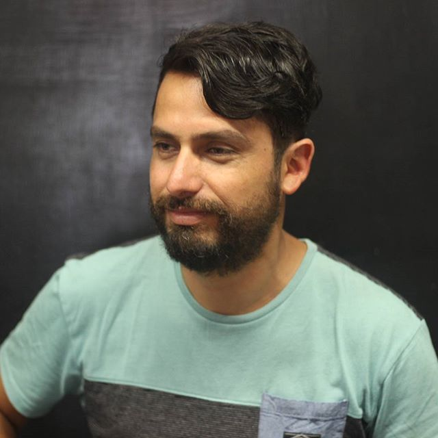 Corte por @malemales para @giottorock #bobstdo #bobheadmalena #barber #barberia #barbershop #haircut #menhaircut #menhairstyle #lastarria #scl
