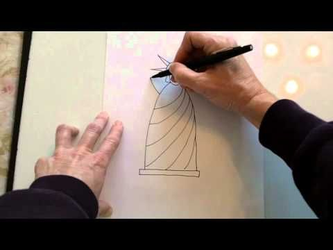 Step-by-step instructions on how to draw this simple Statue of Liberty. I drew this with Kindergarteners.