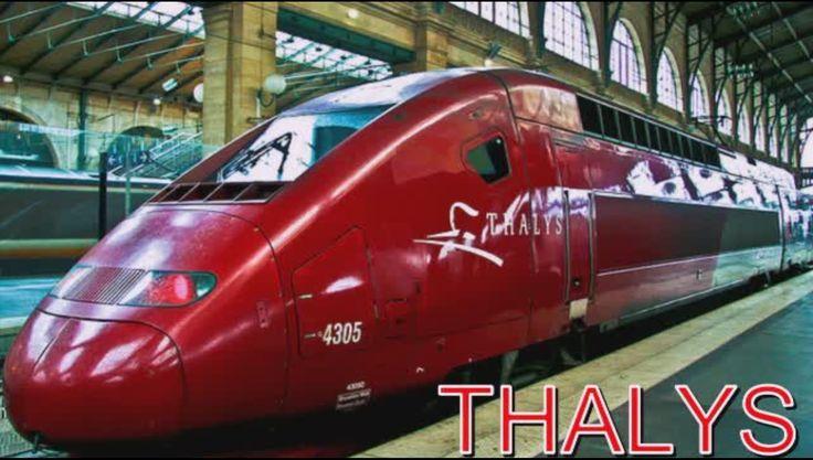 THALYS скоростной поезд Бельгии !