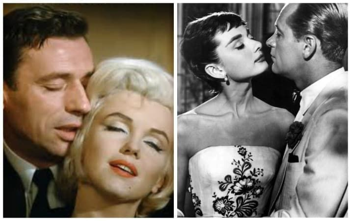 During the filming of Let's Make Love in 1960, rumors were rampant of an affair between the film's costars, Marilyn Monroe and Yves Montand. Both were married at the time, Monroe to Arthur Miller and Montand to Simone Signoret. When filming wrapped, so did the romance. While Marilyn is often vilified for her relationships, Audrey's are less well known. During the filming of Sabrina, Audrey had an affair with her costar, married father of three William Holden. She was also rumored to have had…