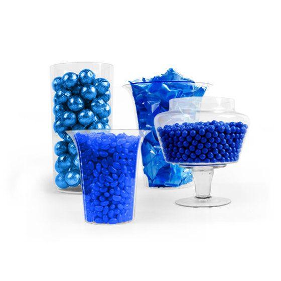 Dark Blue Candy Buffet