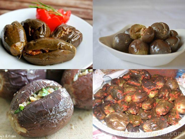 طريقة عمل المكدوس Food Recipes Syrian Food
