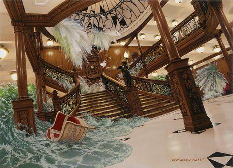 Pintura de Ken Marschall.