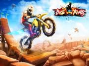 As an interesting racing game Bike Rivals will lead its players to something intense and thrilling. Get ready? Join with us right now! How to win a