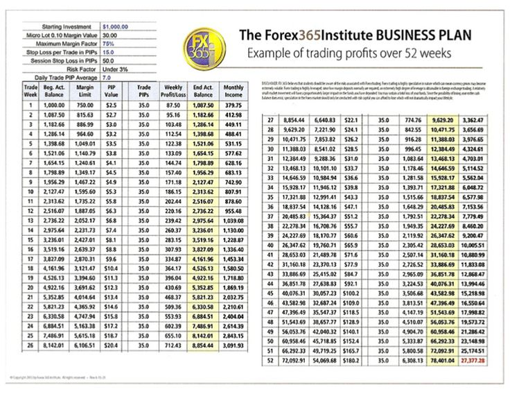 forex trading company business plan Forex Business