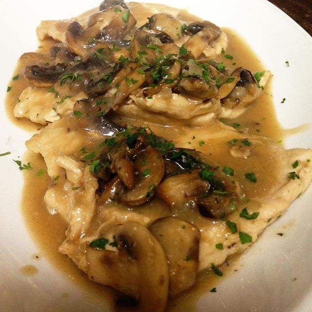 Veal Marsala is always a good idea. 👌🏻 Veal sautéed with fresh mushrooms and marsala wine. #realitalianfood #classicitalian #dinner #lajolla #lajollalocals #sandiegoconnection #sdlocals - posted by Manhattan of La Jolla  https://www.instagram.com/manhattanlajolla. See more post on La Jolla at http://LaJollaLocals.com