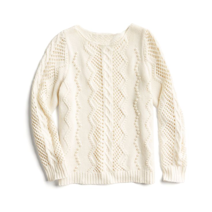 Winter Stylist picks: Cable knit sweater