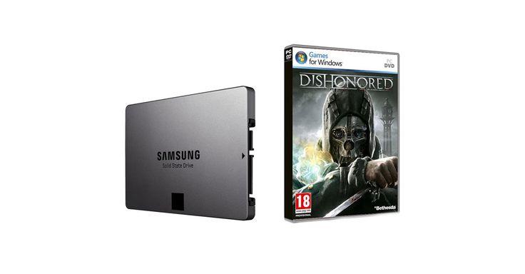 SAMSUNG - SSD 500 GB Serie 840 Evo Interfaccia Sata III + Gioco Dishonored PC DVD Box Incluso a soli 199 euro.