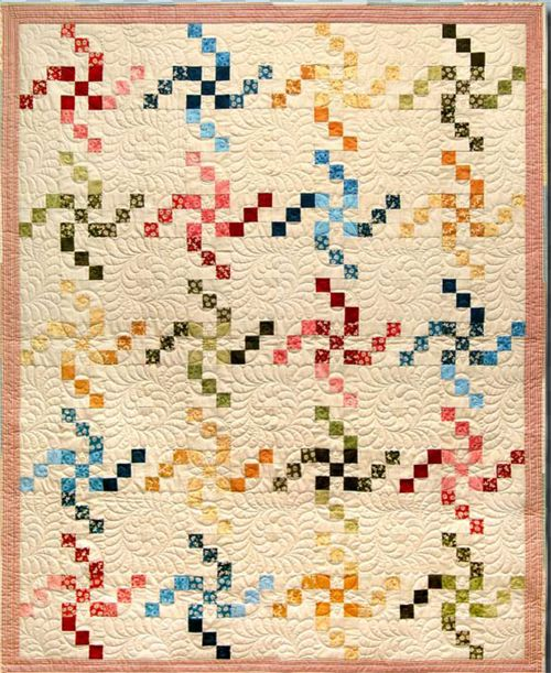 (via Gecko Gully - the best patchwork and quilting products for quilters in Australia - Swirling LuLu)