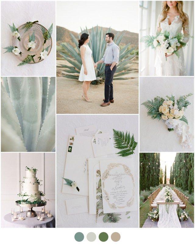 ormbunke bröllopsfärger