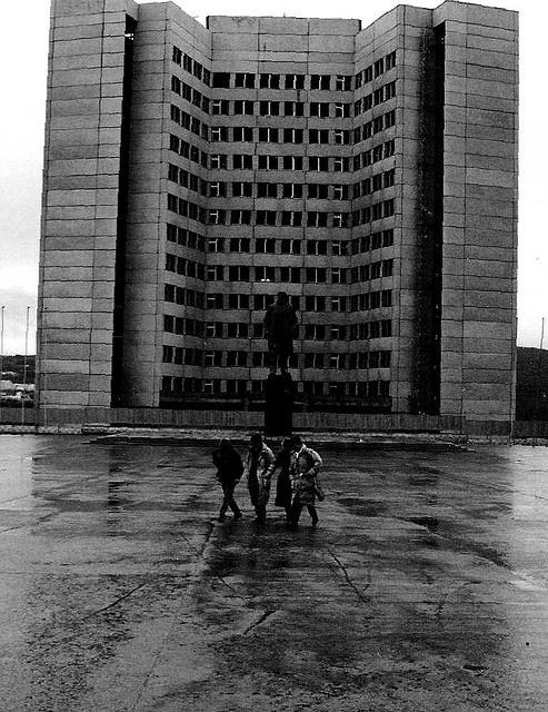 Soviet Architectural Design by martnpro, via Flickr