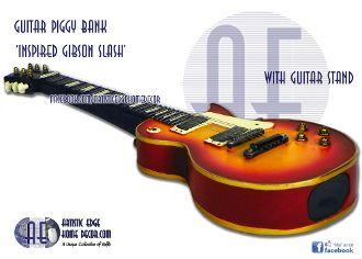 Guitar Money Bank 'Insp Gibson Slash'