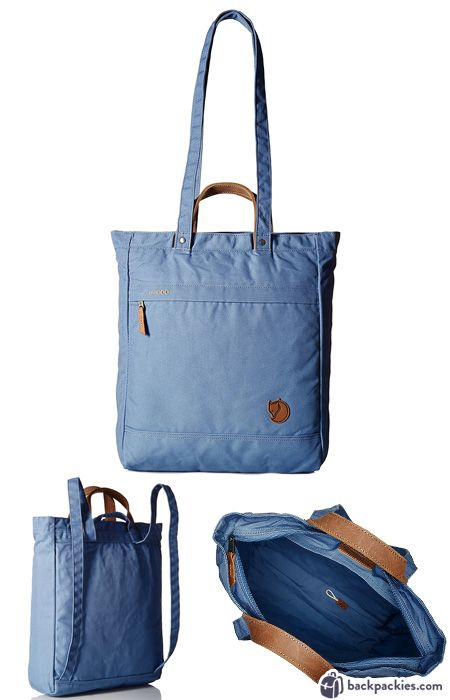 cf1a116ed3 A convertible travel tote backpack available in a gazillion awesome colors   Count us in! The Fjallraven Totepack No. 1 is one of our favorite travel  bags ...