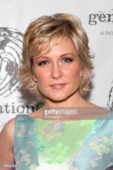amy+carlson.+hairstyles | News Photo: Amy Carlson attends the 2013 Outstanding Leadership In…