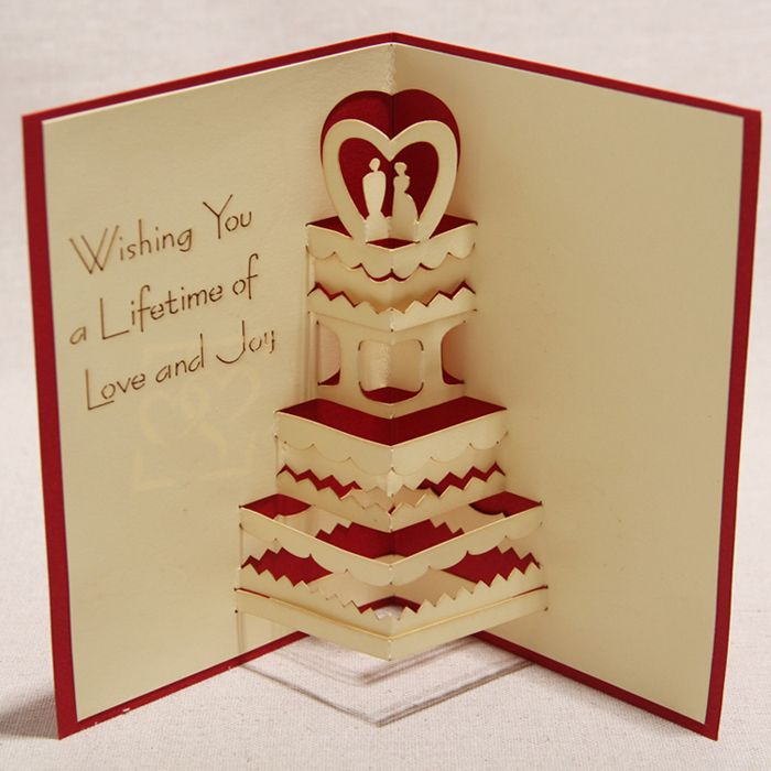 3д открытка на свадьбу