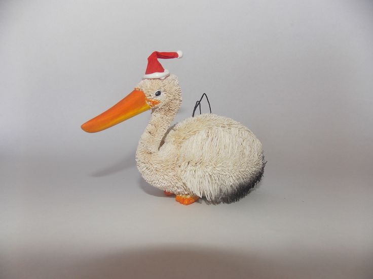 Australian Animal Christmas decorations Pelican available at White Apple Gifts  http://www.whiteapplegifts.com.au/epages/shop.sf/en_AU/?ObjectPath=/Shops/whiteapplegifts/Products/XORN-PEL