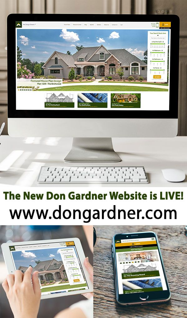 The New Don Gardner Website is LIVE! Larger images and easy to navigate. Find your dream home: www.dongardner.com