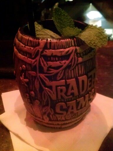 I believe this is the Shipwrecked. @ Trader Sam's, Disneyland Hotel  Anaheim, CA.