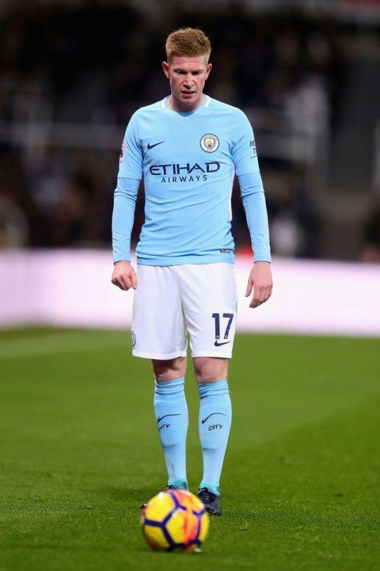 Kevin de Bruyne, sin preocupaciones por el Manchester City.