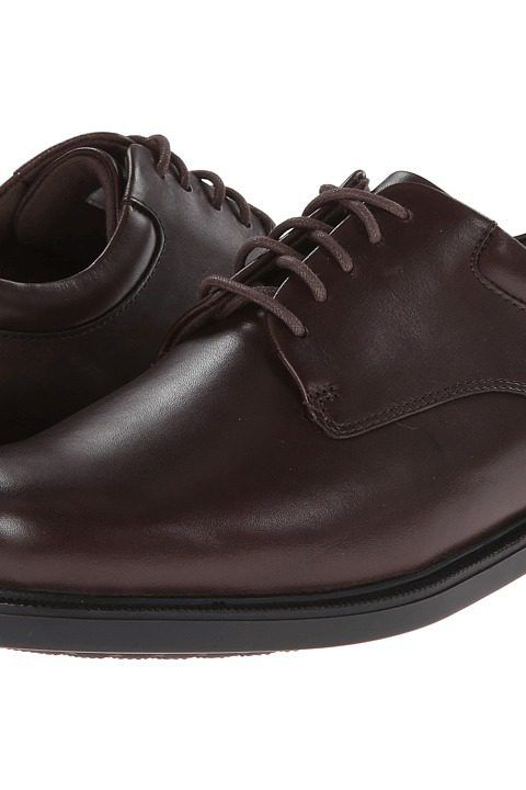 Rockport Big Bucks Margin (Chocolate Leather) Men's Dress Flat Shoes -  Rockport, Big