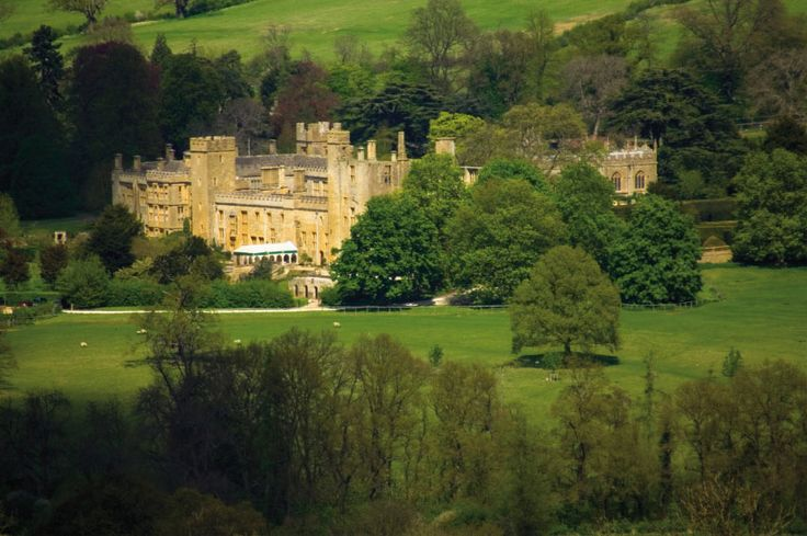Sudeley Castle - my archetype for Justin's Gloucestershire home, Ralin Castle: