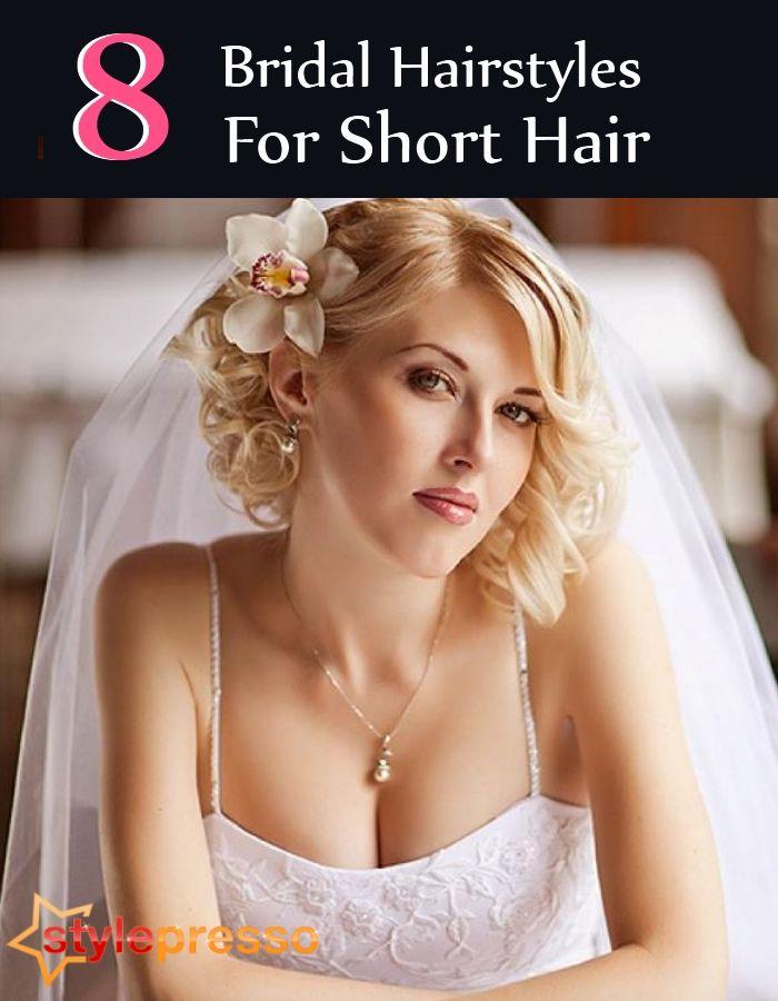 8 Bridal Hairstyles For Short Hair