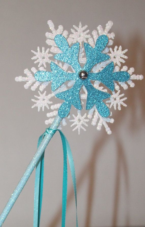 Frozen wand Elsa inspired wandFrozen inspired by JoSeasonsCrafts