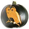 Owl Pumpkin Stencil